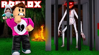 ROBLOX CAMPING 58 😨 ? THE SECRET HIDE OF THE MONSTER