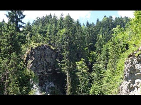 Klettersteig Talbach : Talbach klettersteig zillertal youtube