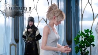 Gentiana And Lady Lunafreya Cut Scene (Girl With The Power) Final Fantasy XV
