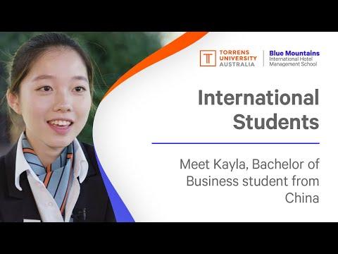 Kayla, Bachelor of Business, International Hotel and Resort Management