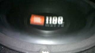 my swift JBL 1100 watts woofer 2 india