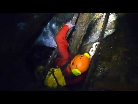 Speleology in Estaing mine, Hiking to the mines in the Val d'Azun