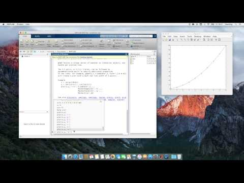 Computational Physics Video 3 - Arrays and plotting in MATLAB