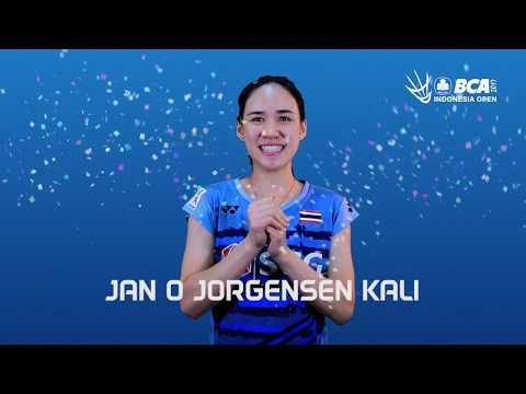 Nitchaon Jindapol - Trivia at BCA Indonesia Open 2017