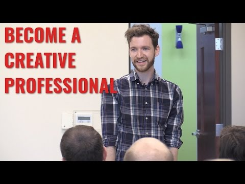 Become a Creative Professional - Craft Content Full Speech
