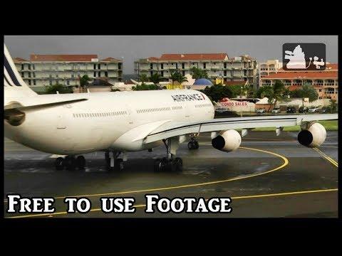 Planespotting at St Maarten (1 hour of Aviation) part 2