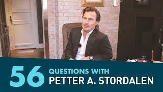 56 Questions with Petter Stordalen