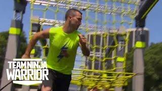 Season 2, Episode 10: JB Douglas takes on Joe Moravsky | Team Ninja Warrior