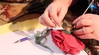 Как сделать цветы пиона из салфетки своими руками(Как сделать цветы пиона из салфетки (бумаги) своими руками, смотрите мое видео, оставляйте Ваши отзывы и..., 2014-06-27T19:22:57.000Z)