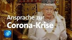 Fernsehansprache von Königin Elizabeth II. zur Corona-Krise