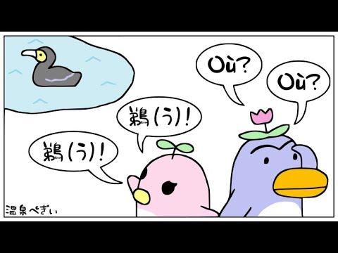 フランス語の「OU」の発音の仕方を解説( /u/ )