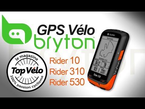 Image de la vidéo GPS vélo Bryton Rider 10, Rider 310 et Rider 530