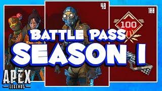 Full Season 1 Battle Pass Apex Legends Revealed