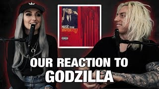 Wyatt and Lindsay React: Godzilla by Eminem