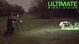 Hunter Attacked by Angry Boar During Thermal Hunt with Trijicon REAP-IR Thermal Scope