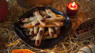 Finger Biscuits For Halloween