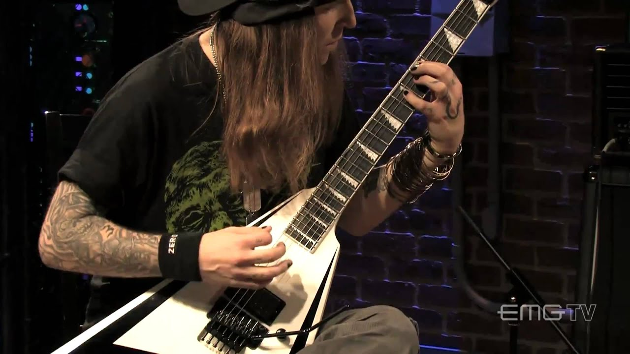 Alexi Laiho Rips Through Are You Dead Yet Live On Emgtv Youtube