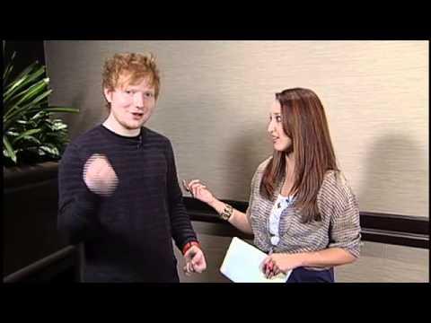 BT Winnipeg - Musician Ed Sheeran Part 2 06.24.2013