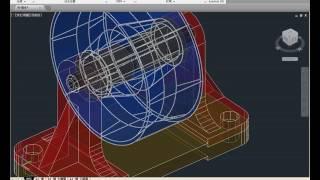 【AutoCAD2014教學】291 材質貼圖與彩現