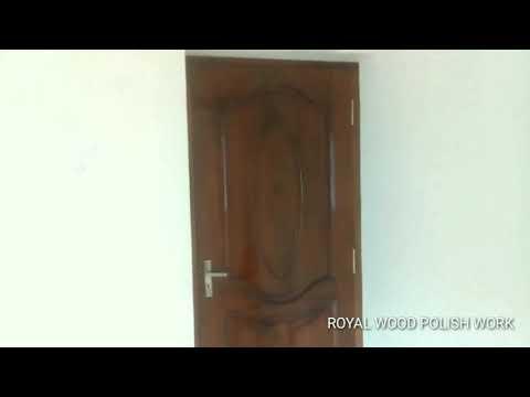 Wood polish finishing | bedroom door model | door design | பெட் ரூம் டோர்