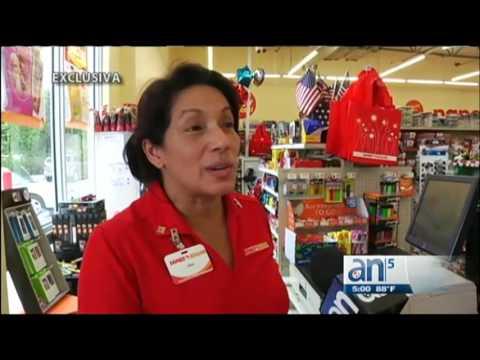 Dos hombres armados aterrorizaron a clientes y empleados en un Family Dollar  - América TeVé