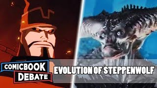 Evolution of Steppenwolf in All Media in 5 Minutes (2018)