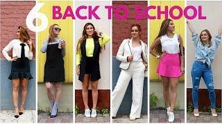 Back to School 6 LOOKBOOK СНОВА В ШКОЛУ 6 Нарядов c  Liza Fil