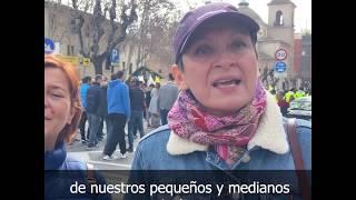 Manifestación del campo en Murcia