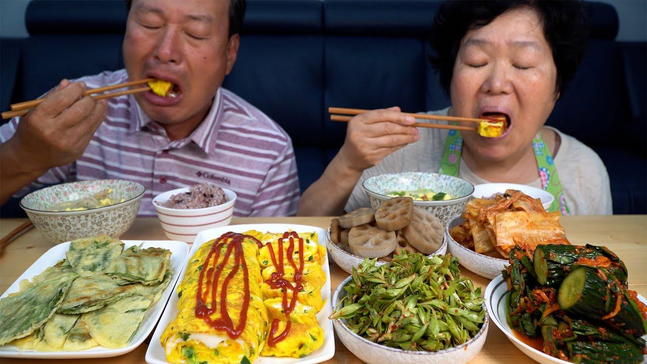 북엇국과 연근조림, 계란말이에 돌나물무침까지 한 상! (Homemade Korean dishes) 요리&먹방!! - Mukbang eating show
