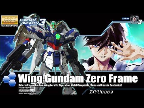 [PS4] Gundam Breaker 3 : Wing Gundam Zero Frame [Customized Build]