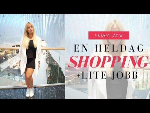Vlogg | Shoppar i Mall of Scandinavia, lunchar & lagar kameran