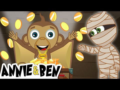 The Mummy's Precious Treasure + More Mystery Cartoons For Kids By The Adventures Of Annie & Ben