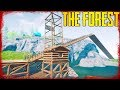Crazy Cliff Crane Construction C**t - S3 EP7 | The Forest v0.73 (2018)