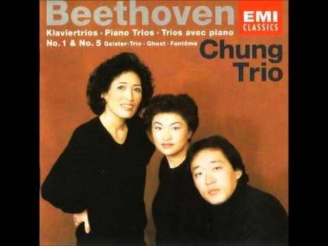 """Beethoven Piano Trio 5 """"Ghost"""" - Chung Trio"""