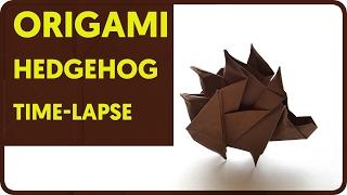 Origami Hedgehog Time lapse (Sergey Yartsev)
