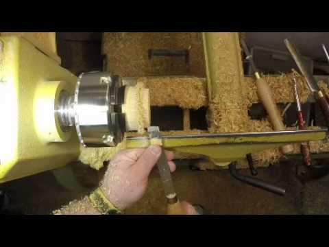 Woodturning: A Wood Flower