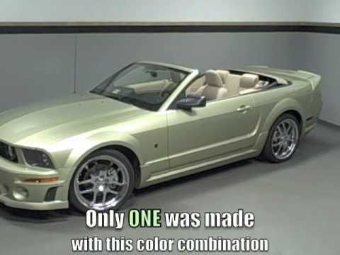 2005 Ford Mustang For Sale >> 2005 Ford Mustang Sport Convertible with ROUSH Package at ...