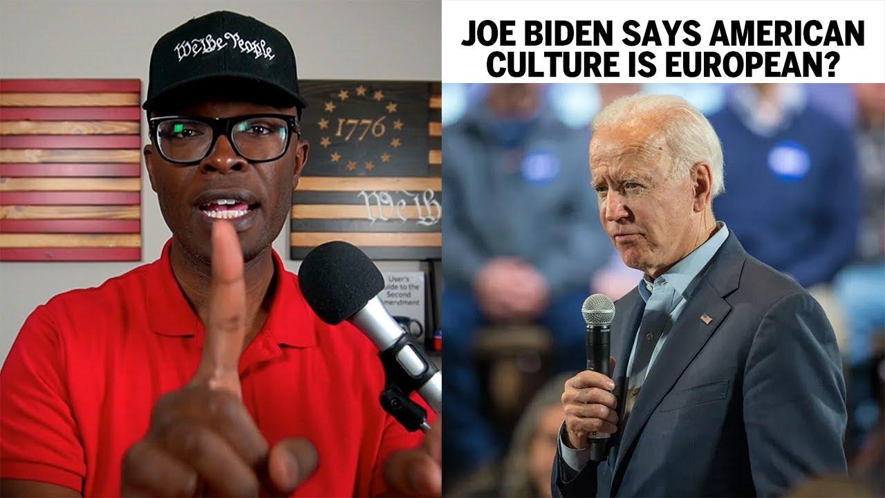 Did Joe Biden Make WHITE NATIONALIST Comments About Culture? -ABL