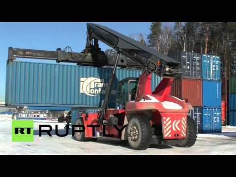 Russia: Harbin to Yekaterinburg cargo rail route opens up for business