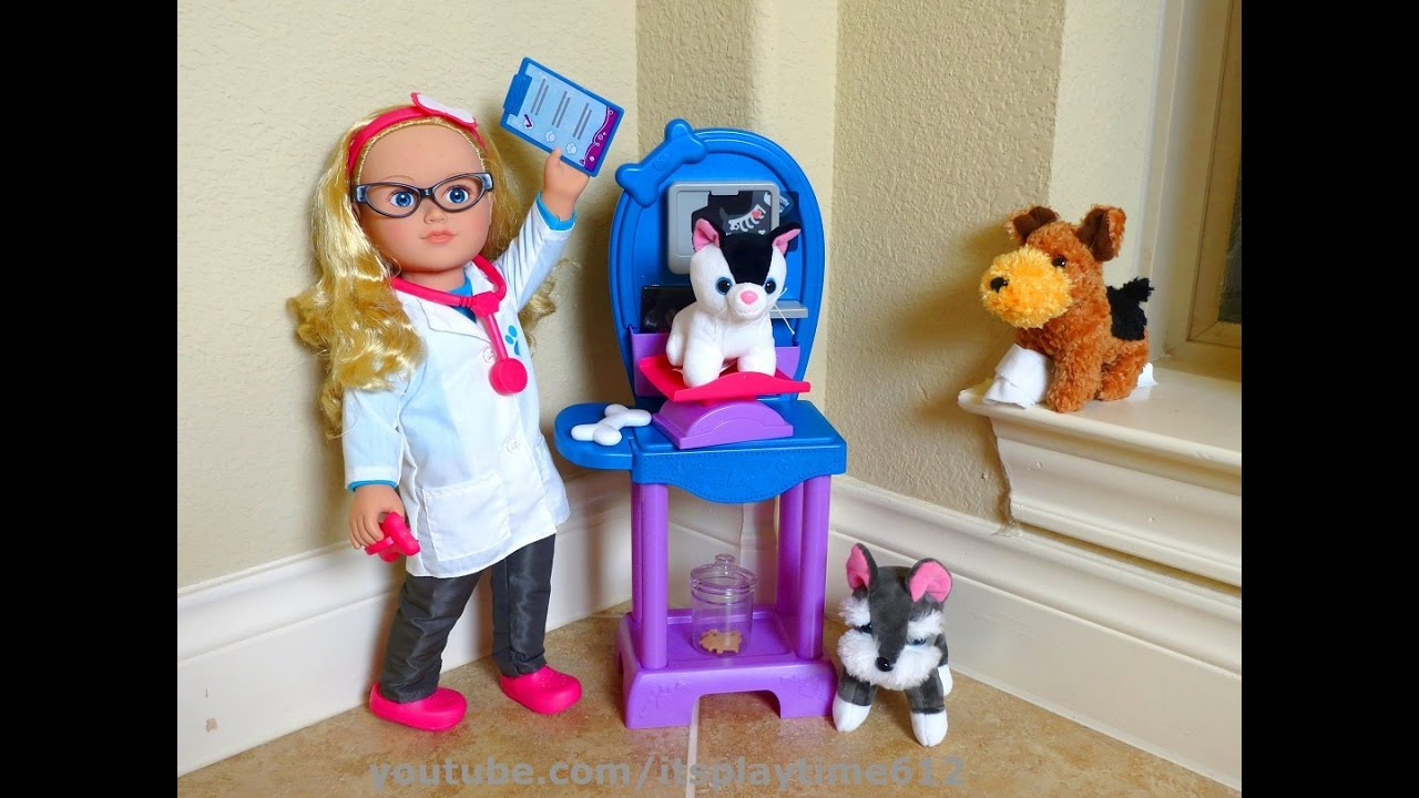 Toys For Life : Toys review my life dolls vet playset with toy animals