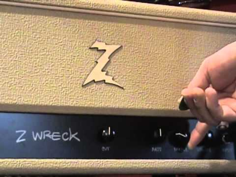 dr z z wreck amplifier demo with kingbee guitars strat youtube. Black Bedroom Furniture Sets. Home Design Ideas