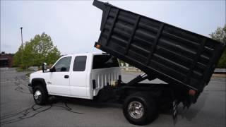 2006 Chevy Silverado 3500 Dump Truck 4x4 6.6L Duramax Diesel