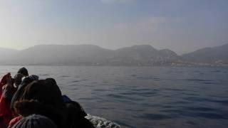 رحلة لجوء من تركيا الى اليونان