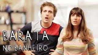 BARATA NO BANHEIRO