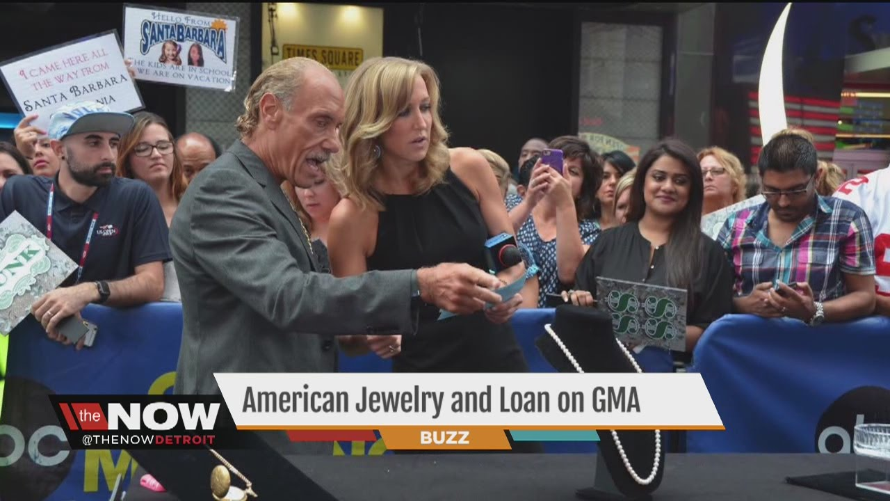Les Gold from American Jewelry and Loan appears on Good Morning