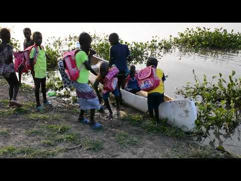 Skolebørn i Sydsudan, Upper Nile