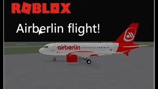 hurricanegeorges1998 Plays: Roblox, Airberlin A319 Flight