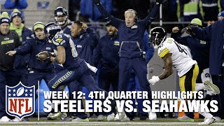 Relive the Steelers vs. Seahawks Crazy Back-And-Forth 4th Quarter | NFL Highlights
