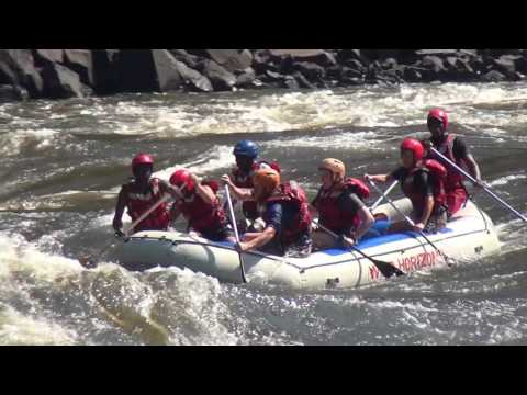 Video River Rafting on Zambezi Zimbabwe 2017 Converted