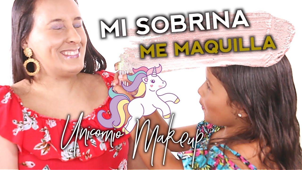 Mi Sobrina Me Maquilla! | Vivi Brizuela